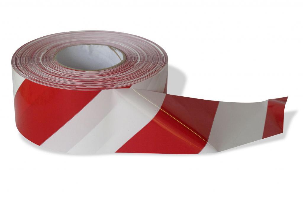 detailní informace o *Ohraničovací vytyčovací páska ČERVENO/BÍLÉ PRUHY (potiskpasek)