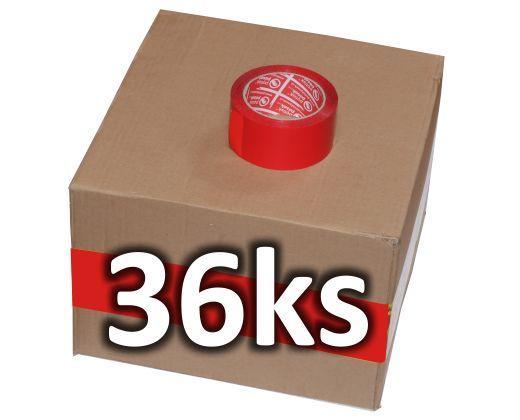 detailní informace o Balicí páska o síle 32 mikronů ČERVENÁ  *cena za karton* (potiskpasek)