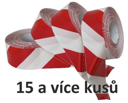 detailní informace o *Ohraničovací vytyčovací páska ČERVENO/BÍLÉ PRUHY - od 15 ks (potiskpasek)