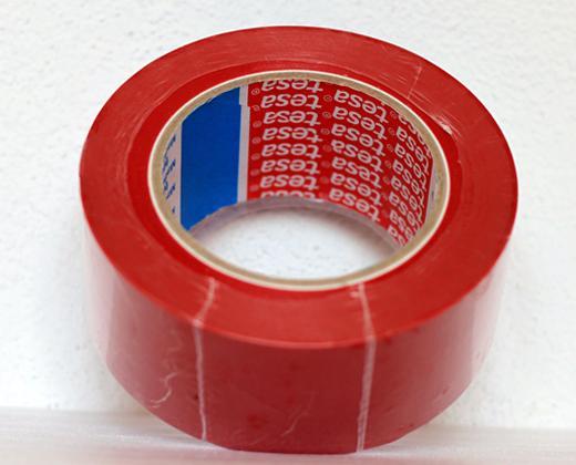 detailní informace o Podlahová lepicí páska TESA síla 180 µm - ČERVENÁ (potiskpasek)