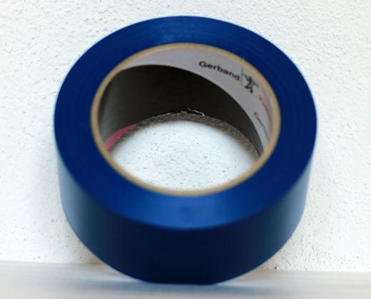detailní informace o Podlahová lepicí páska síla 150 µm - modrá  (potiskpasek)