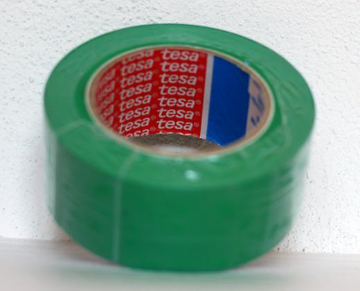 detailní informace o Podlahová lepicí páska TESA síla 180 µm - ZELENÁ (potiskpasek)