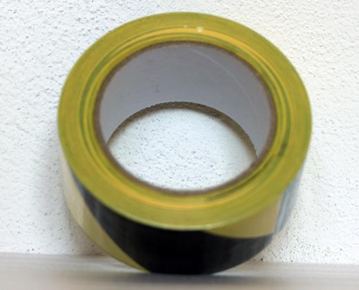 detailní informace o Podlahová lepicí páska síla 150 µm  - žluto černé pruhy  (potiskpasek)