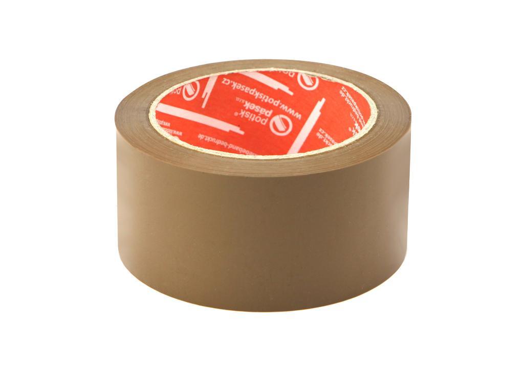 detailní informace o Balicí páska o síle 32 mikronů HNĚDÁ  *cena za kus* (potiskpasek)