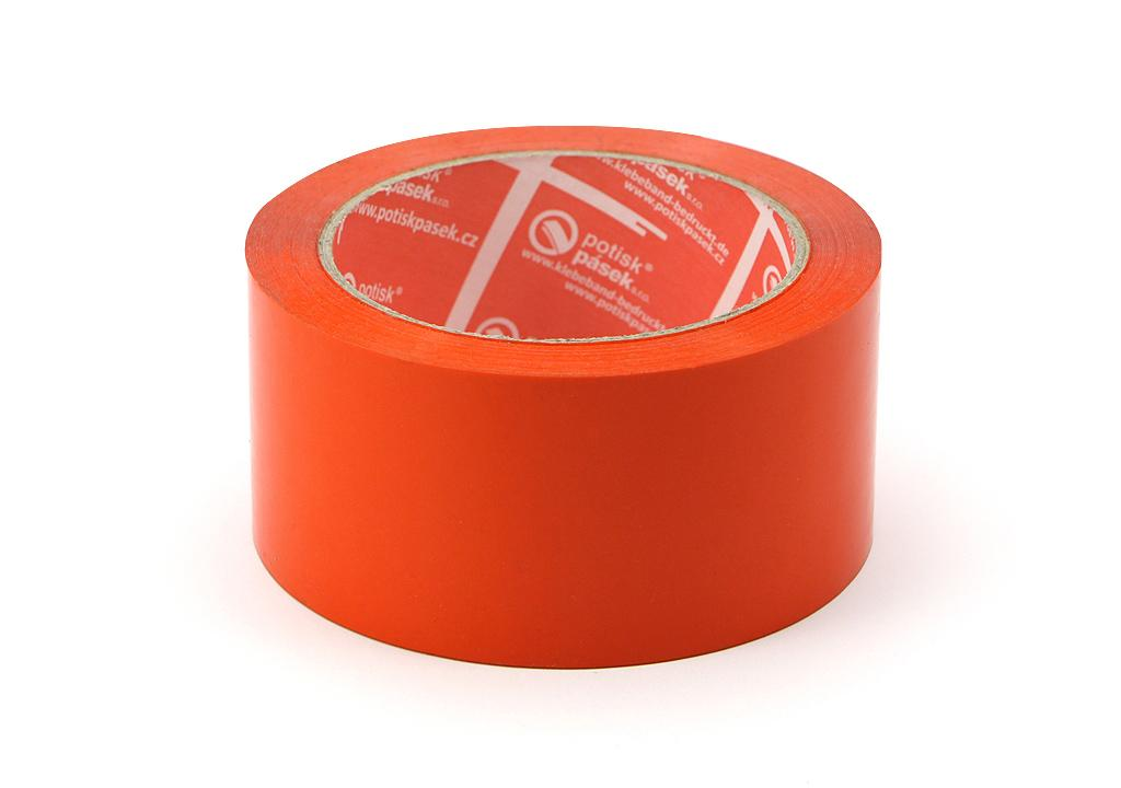 detailní informace o Balicí páska o síle 32 mikronů ORANŽOVÁ  *cena za kus* (potiskpasek)