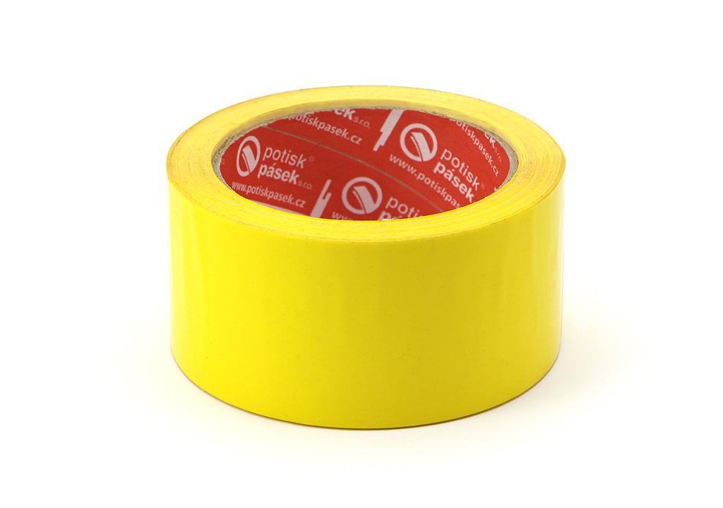 detailní informace o Balicí páska o síle 32 mikronů ŽLUTÁ  *cena za kus* (potiskpasek)