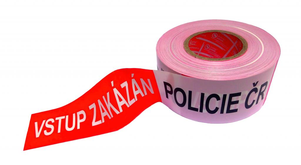 POLICIE ČR - VSTUP ZAKÁZÁN - verze dle nové vyhlášky