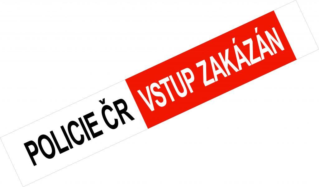 detailní informace o POLICIE ČR - VSTUP ZAKÁZÁN - verze dle nové vyhlášky (potiskpasek)