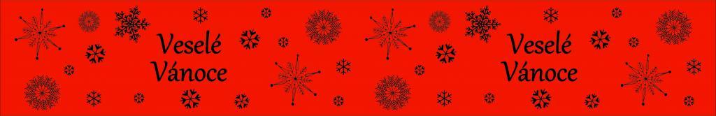 Vánoční dekorační lepicí páska